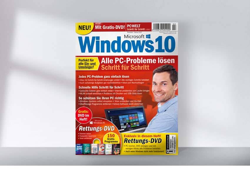 PC-Welt Sonderheft Windows 10 - Schritt für Schritt 2/2017